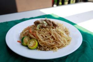 Filipino Pancit Noodles